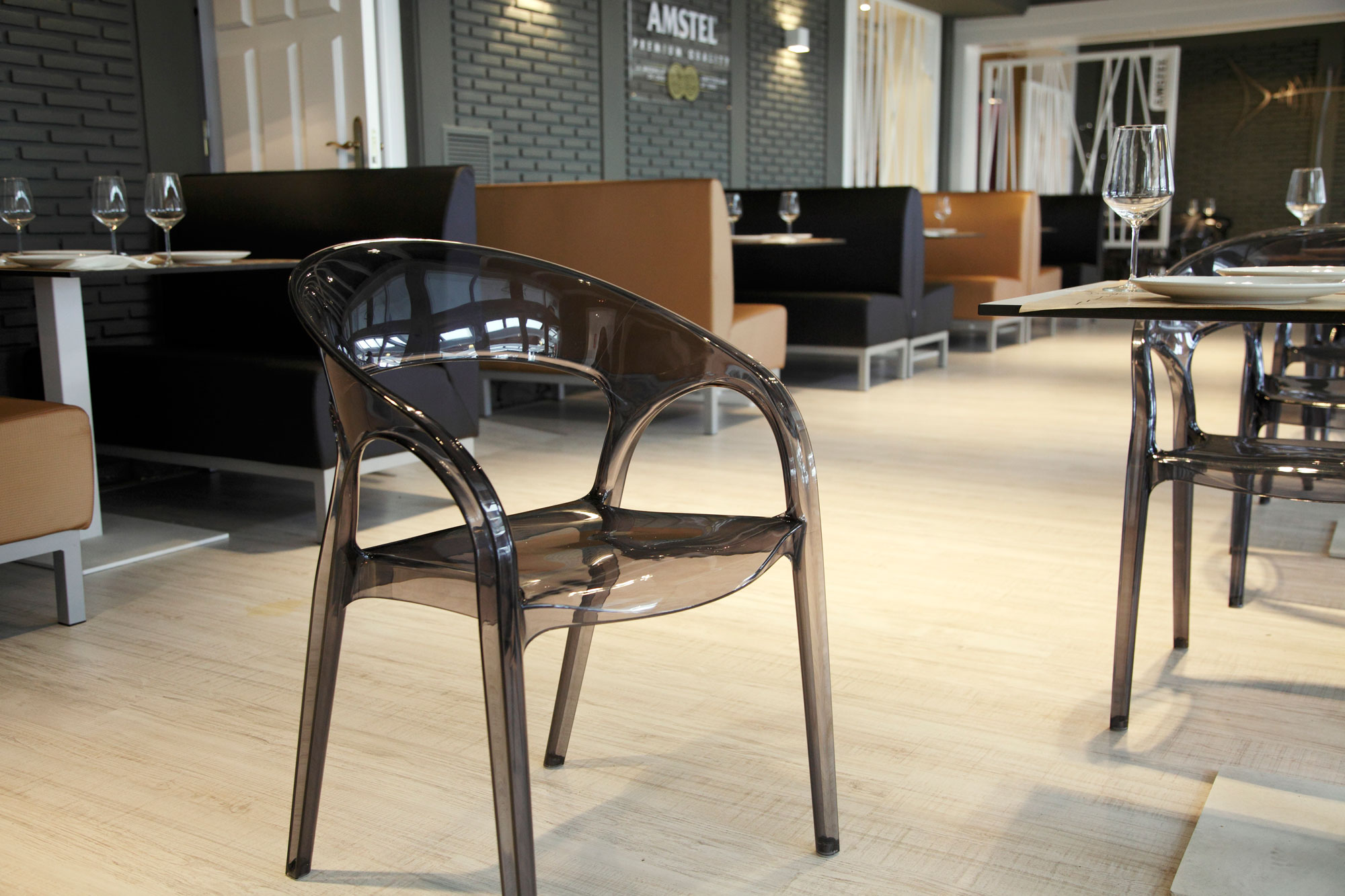 restaruant Tamarises furniture by Palmira